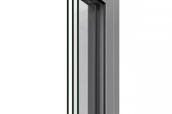 Rez prahovej časti vchodových dverí